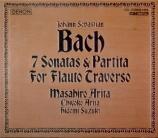 BACH - Arita - Sonate pour flûte (ou flûte à bec) et b.c. en do majeur B