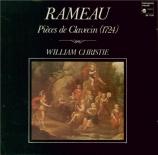 RAMEAU - Christie - Suite pour clavecin en mi mineur (1724)