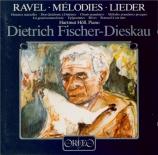 RAVEL - Fischer-Dieskau - Histoires naturelles, cinq mélodies pour voix