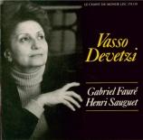 FAURE - Devetzi - Ballade pour piano et orchestre en fa dièse majeur op