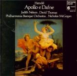 HAENDEL - McGegan - Cantate 'Apollo e Dafne' HWV 122