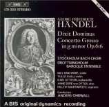 HAENDEL - Öhrwall - Dixit Dominus (Psaume 110), psalm setting pour sopra