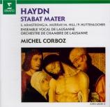 HAYDN - Corboz - Stabat Mater, pour quatre solistes, chœur mixte, orches