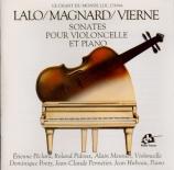 Sonates pour violoncelle et pour piano