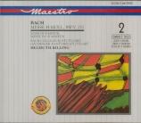 BACH - Rilling - Messe en si mineur, pour solistes, chœur et orchestre B