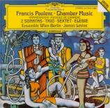 POULENC - Levine - Trio pour hautbois, basson et piano FP.043