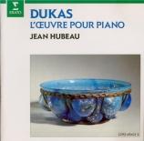 DUKAS - Hubeau - Sonate pour piano en mi bémol mineur