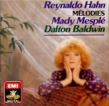 HAHN - Mesplé - Mélodies