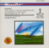 The Early London Symphonies