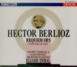 BERLIOZ - Inbal - Requiem op.5 (Grande messe des morts) (Import Japon) Import Japon