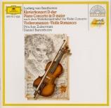 BEETHOVEN - Barenboim - Concerto pour violon op.61 : arrangement pour pi