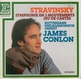 STRAVINSKY - Conlon - Symphonie en trois mouvements, pour orchestre
