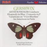 GERSHWIN - Wild - Concerto pour piano en fa majeur