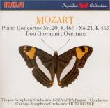 MOZART - Anda - Concerto pour piano et orchestre n°20 en ré mineur K.466
