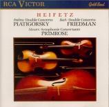 BRAHMS - Heifetz - Double concerto pour violon et violoncelle avec orche