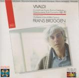 VIVALDI - Brüggen - Concerto pour flûte, cordes et b.c. en sol mineur op