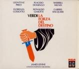 VERDI - Price - La forza del destino, opéra en quatre actes (version 186