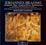 BRAHMS - Haitink - Rhapsodie (Goethe), mélodie pour alto et chœur mascul