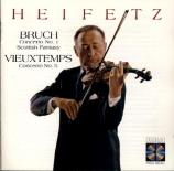 BRUCH - Heifetz - Concerto pour violon n°1 op.26