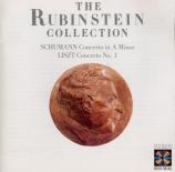 SCHUMANN - Rubinstein - Concerto pour piano et orchestre en la mineur op