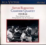DVORAK - Rubinstein - Quintette avec piano en la majeur op.81 B.155 (188