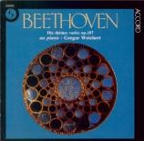 BEETHOVEN - Weichert - Dix thèmes variés op.107 : version pour piano