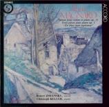 MAGNARD - Zimansky - Sonate pour violon et piano op.13