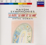 HAYDN - Dorati - Symphonie n°6 en ré majeur Hob.I:6 'Le matin'