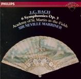 BACH - Marriner - Six symphonies op.3