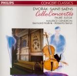 DVORAK - Gendron - Concerto pour violoncelle et orchestre en si mineur o
