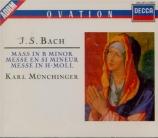 BACH - Münchinger - Messe en si mineur, pour solistes, chœur et orchestr