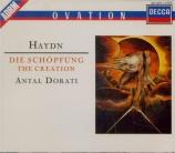 HAYDN - Dorati - Die Schöpfung (La création), oratorio pour solistes, ch