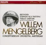 BEETHOVEN - Mengelberg - Symphonie n°6 op.68 'Pastorale' (Import Japon) Import Japon