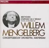 BEETHOVEN - Mengelberg - Symphonie n°3 op.55 'Héroïque' (Import Japon) Import Japon