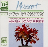 MOZART - Pires - Concerto pour piano et orchestre n°20 en ré mineur K.46