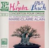 HAYDN - Alain - Concertos pour orgue