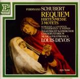 SCHUBERT - Devos - Requiem op.9