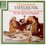 TELEMANN - Koopman - Ouverture pour deux hautbois, cordes et basse conti