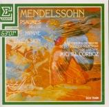 MENDELSSOHN-BARTHOLDY - Corboz - Psaume 114, pour double chœur à huit vo