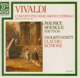 VIVALDI - Bourgue - Concerto pour hautbois, cordes et b.c. en do majeur