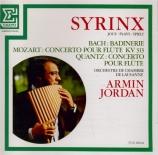 BACH - Stanciu Syrinx - Suite pour orchestre n°2 BWV.1067 : badinerie