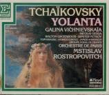 TCHAIKOVSKY - Rostropovich - Iolanta op.69