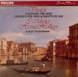 VIVALDI - Holliger - Concerto pour hautbois, cordes et b.c. en do majeur