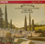 VIVALDI - I Musici - Concerto pour viole d'amour, cordes et b.c. en ré m