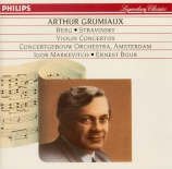 BERG - Grumiaux - Concerto pour violon 'Dem Andenken eines Engels? (A la