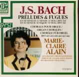 BACH - Alain - Prélude et fugue pour orgue en mi mineur BWV.548