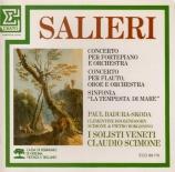 SALIERI - Scimone - Concerto pour flûte, hautbois et orchestre
