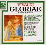 VIVALDI - Gasdia - Gloria en ré majeur, pour deux sopranos, alto, chœur