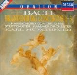 BACH - Münchinger - Concerto brandebourgeois n°1 pour orchestre en fa ma