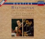 BEETHOVEN - Perlman - Sonate pour violon et piano n°1 op.12 n°1
